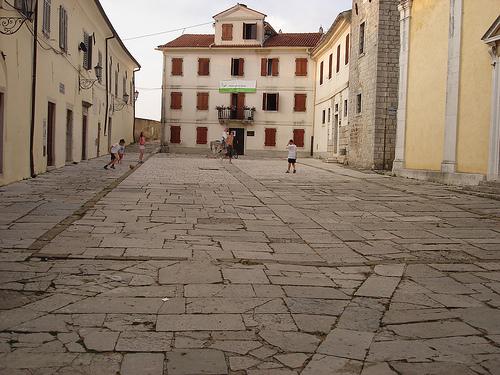 Courtyard istria