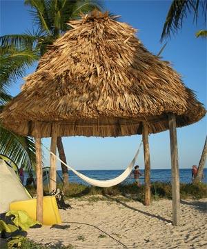 Belize hut 1