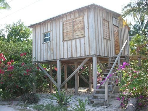 Cabana in Caye Caulker, Belize