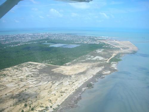 Above Belize City