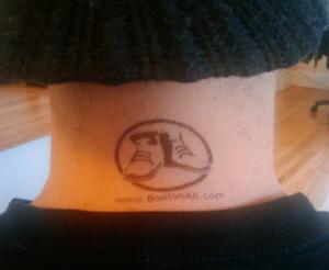 BootsnAll tattoo