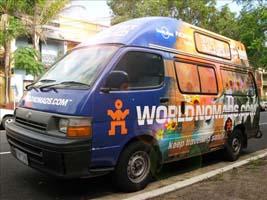 World Nomads Van