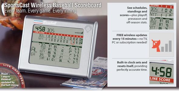 Baseball Scorecast