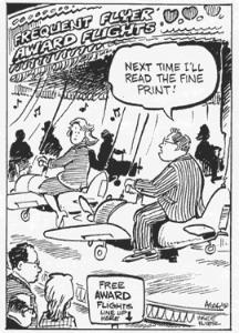 Airline Miles Cartoon