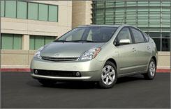 Hybrid Rental Car