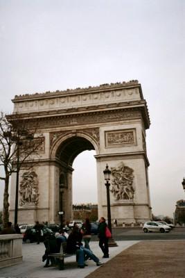 L'Arc de Triomphe, Paris (Scarborough photo)