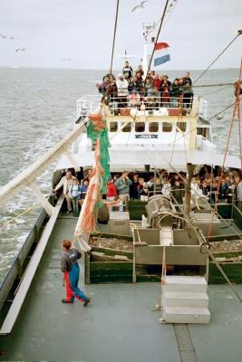 Shrimp Boat Trip, Texel (Scarborough photo)