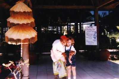 Kids are adored in Bali (Scarborough photo)