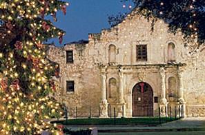 Holiday at the Alamo, courtesy of the San Antonio CVB