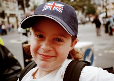 Enjoying Covent Garden, London (Scarborough photo)