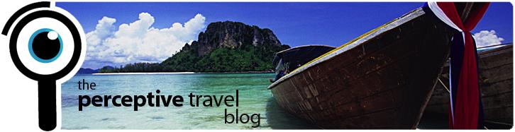 Perceptive Travel Blog header