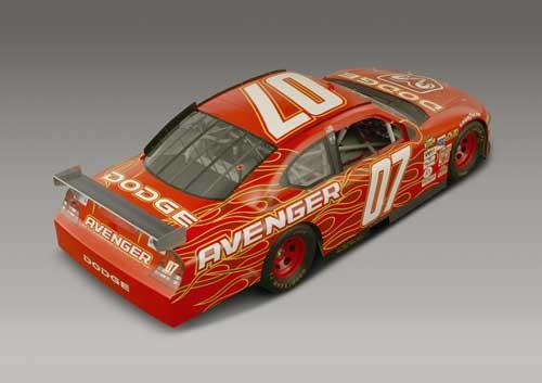 Dodge Avenger racing version (courtesy Daimler/Chrysler)