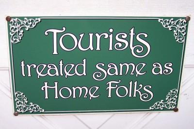 Sign in Mt. Dora, Florida (Scarborough photo)