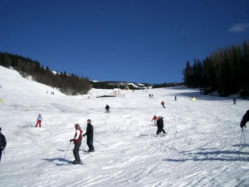 Fun on the slopes (courtesy Paul Johnson of Family Ski Resorts)