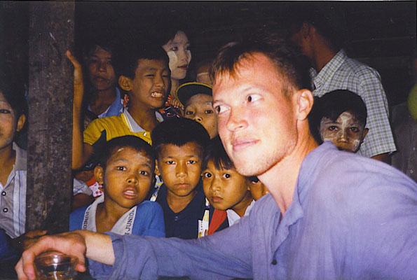Rolf Potts in Burma's Mergui Archipelago (courtesy Rolf Potts)