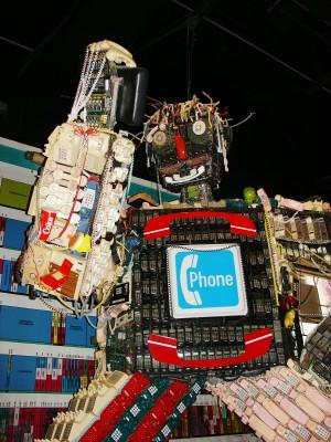 Houston Children's Museum phone guy (Scarborough photo)