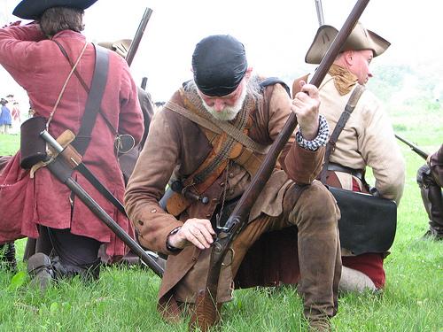 Fort Ticonderoga reenactors (courtesy Slabcity Gang at Flickr CC)