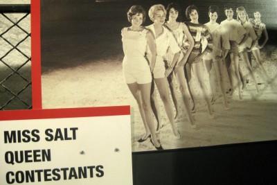 Hutchinson Kansas Underground Salt Museum, Salt Queen photo (courtesy KUSM)