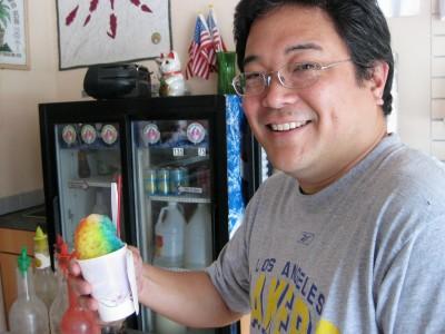 @ParkRat at Waiola Shave Ice, Honolulu, Hawaii
