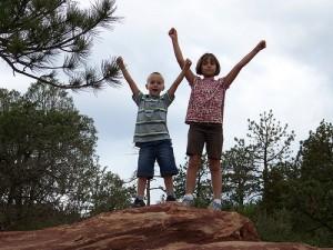 Garden of the Gods, Colorado, conquered! (courtesy Sarah Page)
