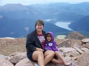 Pike's Peak, Colorado (courtesy Sarah Page)