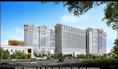 Harrah's Plans $1 Billion Caesars Palace Expansion and Remodel
