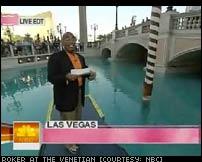 Today Show Visits The Venetian - Al Roker