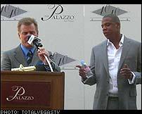 Jay-Z 40/40 Club in Las Vegas
