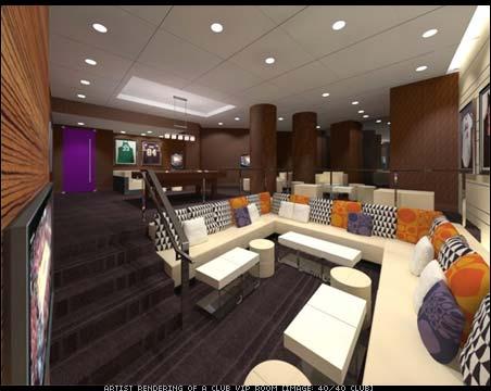 Jay-Z 40/40 Club in Las Vegas - artist renderings