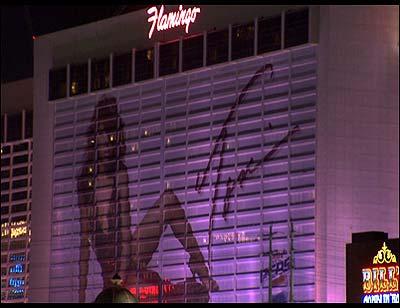Toni Braxton banner at Flamingo Las Vegas
