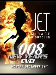 Jet Vegas New Year's Eve 2007 James Bond