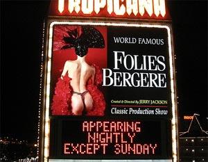Folies Bergere sign