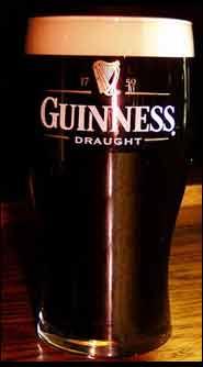 glass of guinness