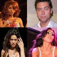 Braxton - Flamingo/Harrah's; Bass - lancebass.com; Burke - brookburke.com; Kardashian - KimKardashian.com)
