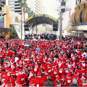 Las Vegas Great Santa Run 2007 [image courtesy of Opportunity Village]