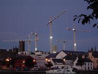 Athlone cranes daytime
