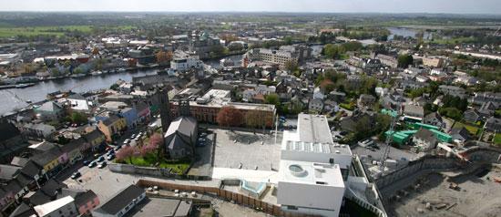 Athlone town panorama