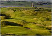 Irish Golf Course in County Clare
