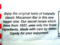 Macaroon Bar label
