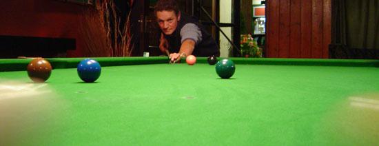 McNeill's Pub Pool table