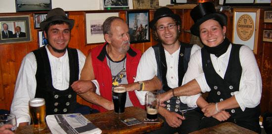 Journeymen in Sean's Bar