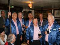 Barbershop Octet sings in Sean's Bar Athlone