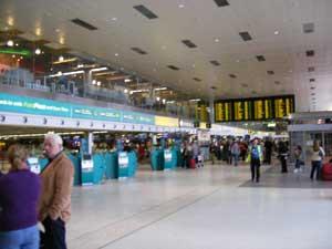 Dublin Airport departures