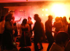 Irish company christmas party dance floor