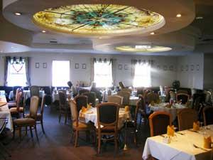The inside of Ken's Oriental restaurant in Athlone