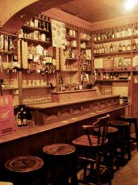 Luker's Pub in Shannonbridge, the old bar