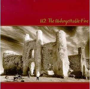 U2's album cover, The Unforgettable Fire