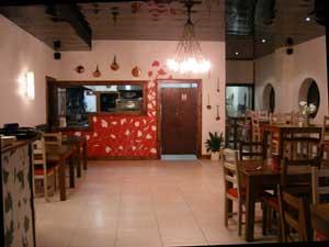 Interior of Divertamento Italian restaurant in Athlone