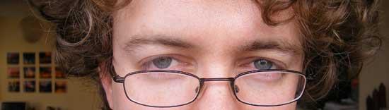 blogger's bleary eyes banner