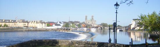 sunny day in athlone